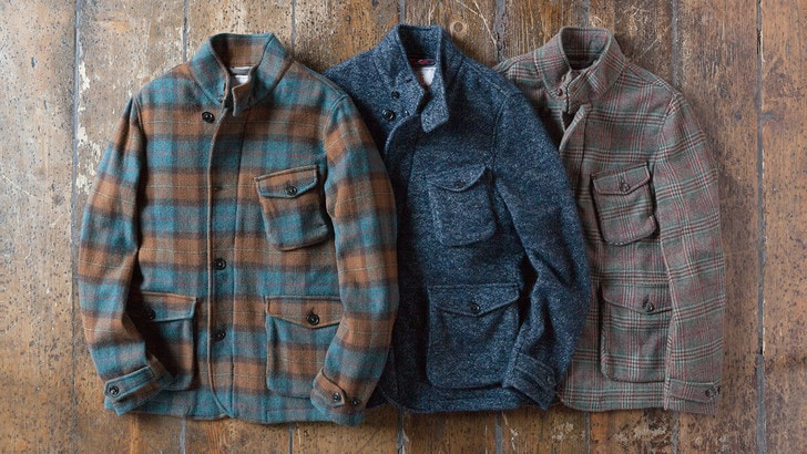 Il blazer in lana british di Baracuta