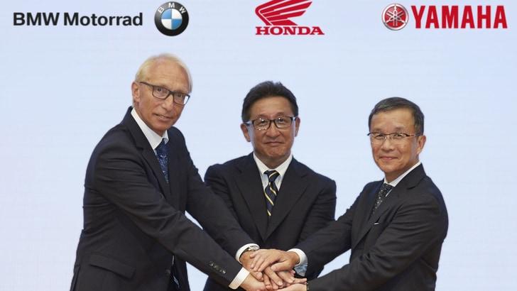 Honda, Yamaha e BMW: accordo sulla sicurezza