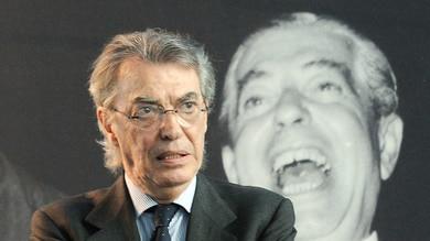 Moratti: «Inter, vinciamo e teniamo lontana la Juve»