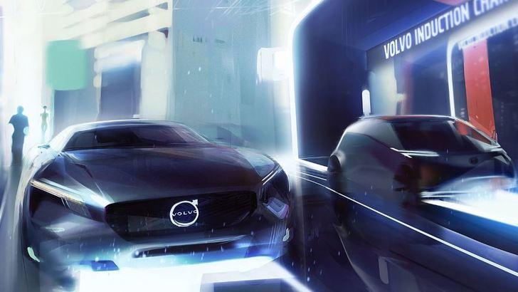 Volvo elettrica, una compatta nel 2019