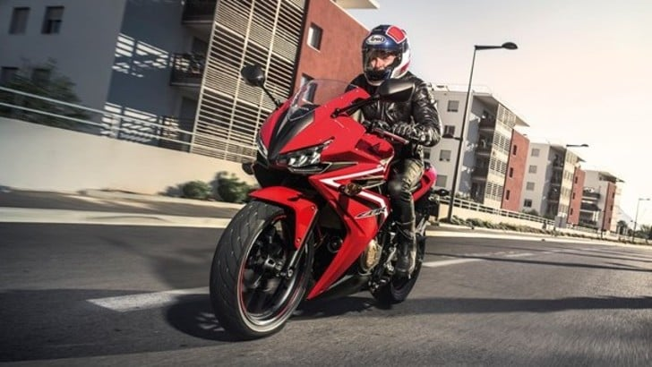 Honda CBR500R: svelata in America