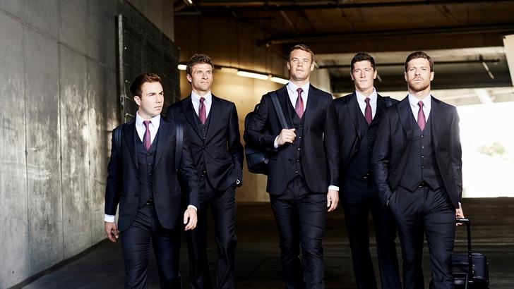 Giorgio Armani veste il Bayern Monaco
