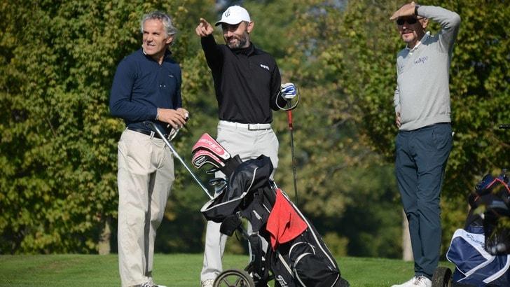 Donadoni e Bucci avversari anche nel golf