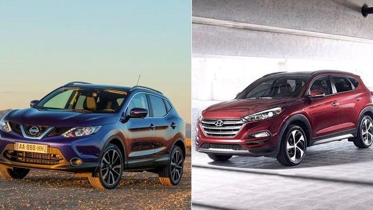 Consumi: Nissan Qashqai batte Hyundai Tucosn