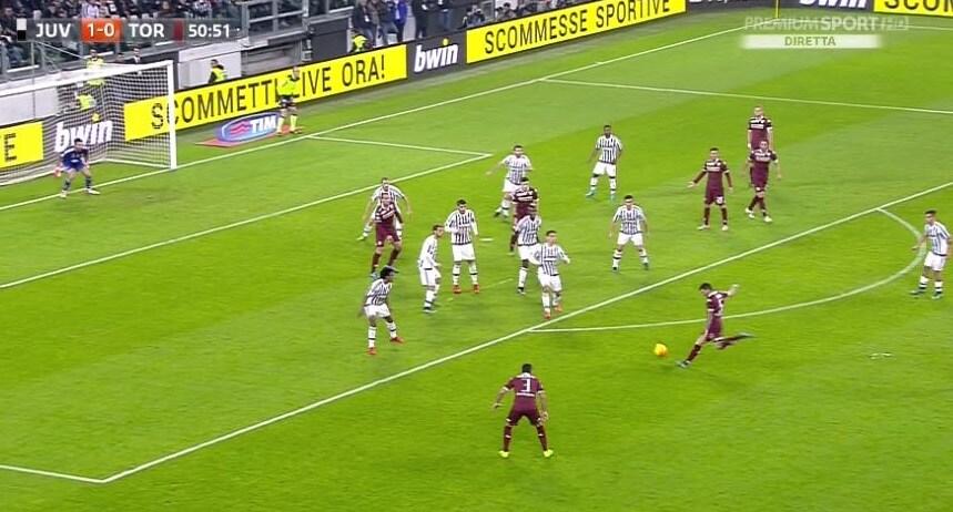 Juventus-Torino, Bovo risponde a Pogba. La fotosequenza