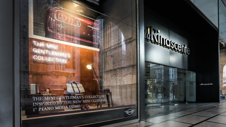 Mini Gentleman's Collection a La Rinascente di Milano