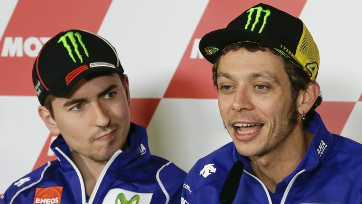 MotoGp: a Misano botta e risposta Rossi-Lorenzo
