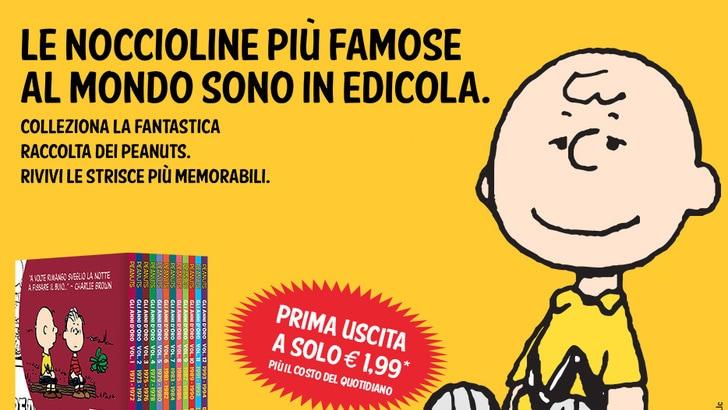 I Peanuts in edicola con Tuttosport: prima uscita a a soli 1,99€!!!