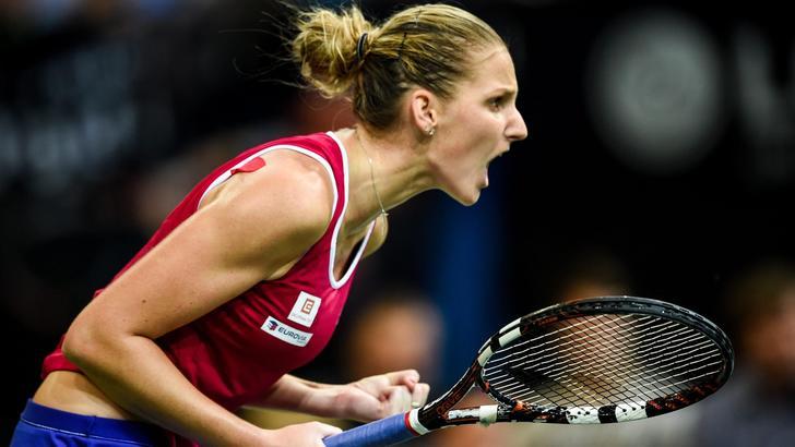 Tennis, Fed Cup: Pliskova vince, Rep.Ceca-Russia 2-2
