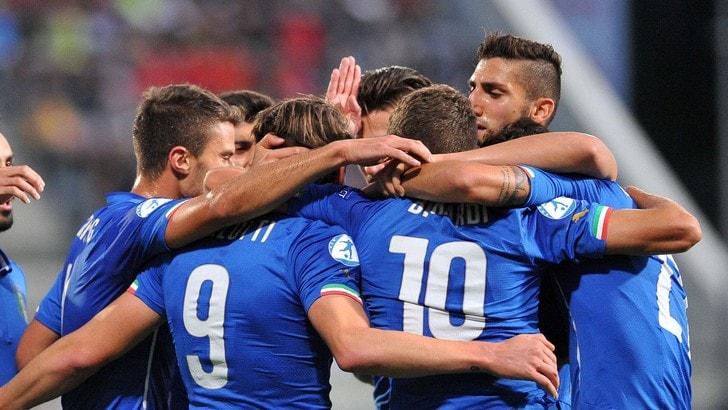 Qualificazioni Europei 2017, Italia-Lituania Under 21 2-0: azzurri primi nel girone