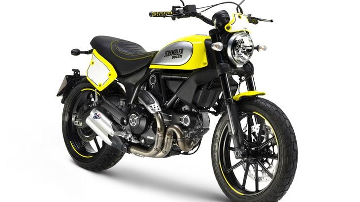 EICMA 2015: Ducati Scrambler, Bayliss svela la Flat Track Pro