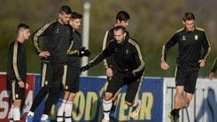 Juventus, testa già al Palermo: squadra in campo a Vinovo