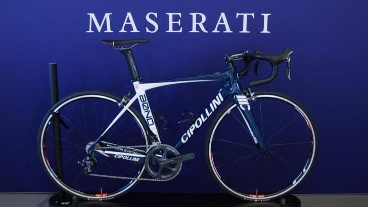La bici gioiello targata Maserati e Cipollini