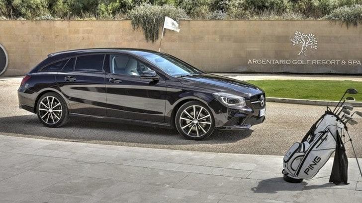 Mercedes CLA Shooting Brake, il test della station sportiva