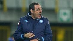 Europa League, Napoli, Sarri: «Passo avanti per la mentalità vincente»
