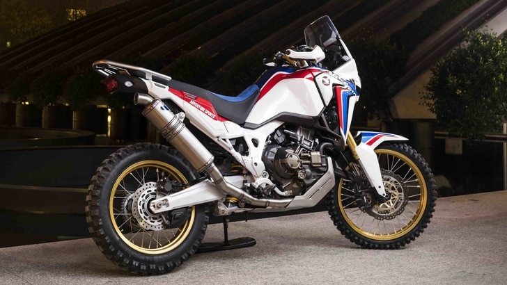 Speciale Honda Africa Twin: all'EICMA la versione celebrativa