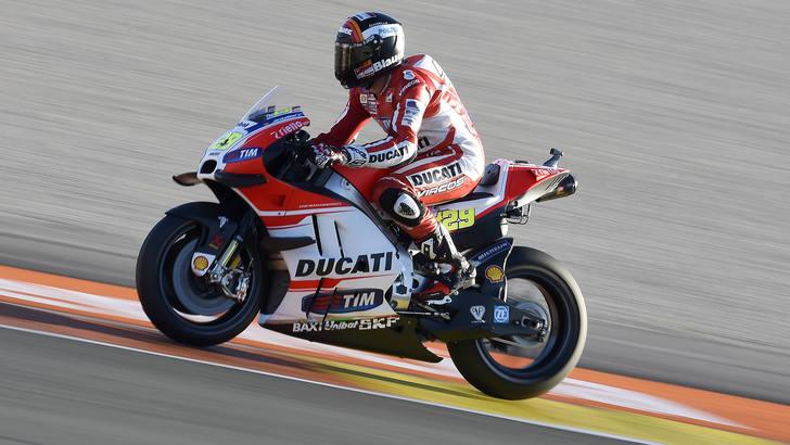 MotoGp Ducati, Iannone: «Mi aspetto dei progressi»
