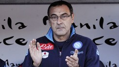 Napoli, Sarri: «Noi e l'Inter, due modi di giocare al calcio»