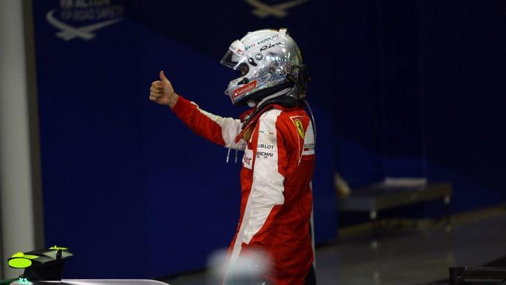 F1 Ferrari, Vettel: «L'anno prossimo competitivi contro la Mercedes»