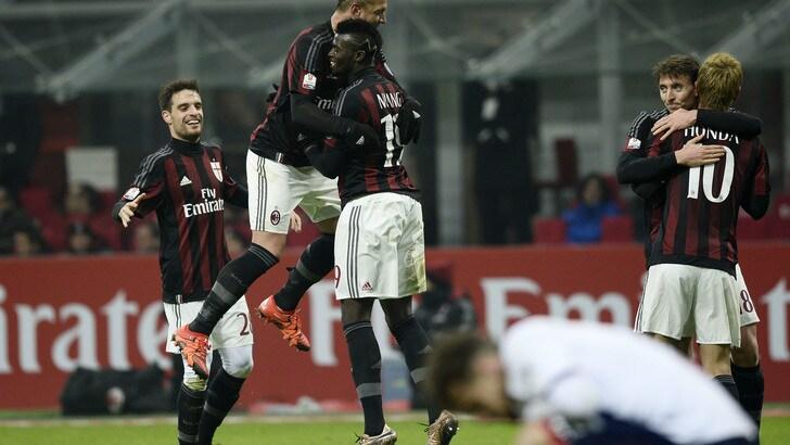 Coppa Italia, Milan-Crotone 3-1, rossoneri agli ottavi solo ai supplementari