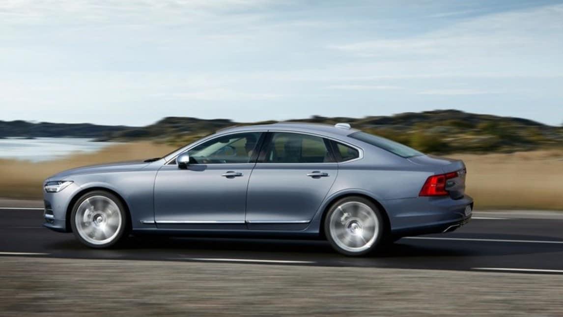 Volvo S90, nuova regina di Svezia