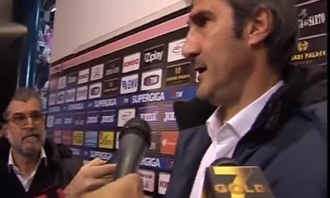 """Gregucci: """"Grande personalità, da domani si pensa al campionato"""""""