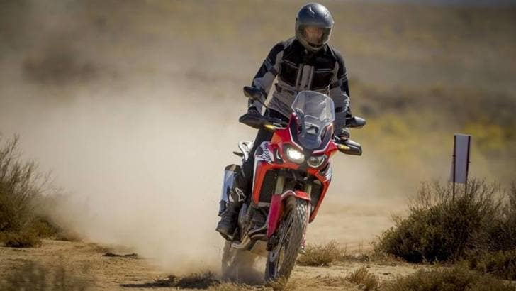 Speciale Honda Africa Twin: primi chilometri off-road