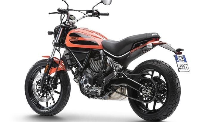 """Ducati: la Scrambler """"giovane"""" costerà oltre 7.500 euro"""