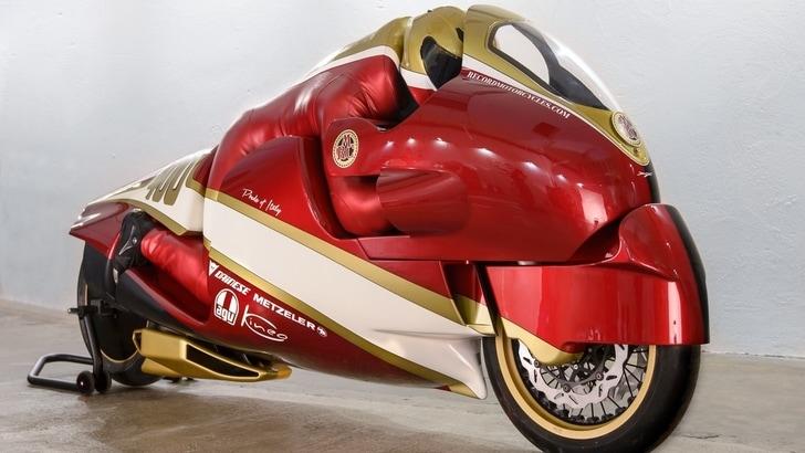 Record velocità: la moto italiana da 423 km/h