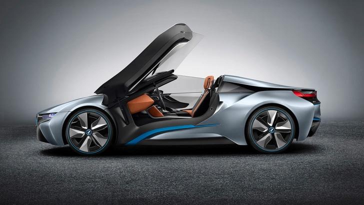 BMW i8, arriva anche la Spyder?