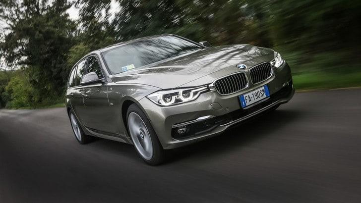 BMW Serie 3 Touring, la prova dell'evergreen