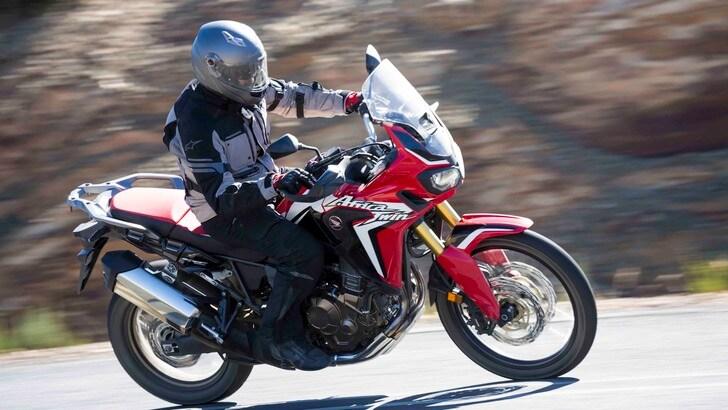 Speciale Honda Africa Twin: primi km su strada