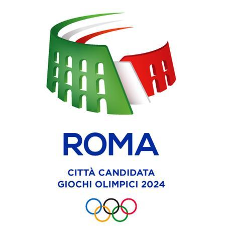 Olimpiadi, Roma 2024, ecco il logo: un Colosseo tricolore