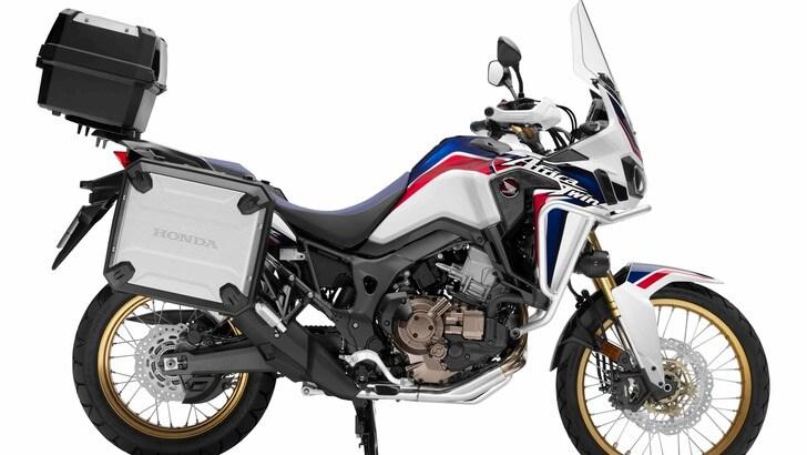 """Honda Africa Twin: la """"Travel Edition"""" costa 2.750 euro in più"""