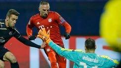 Champions: Bayern, Ribery si ferma ancora. Due mesi out