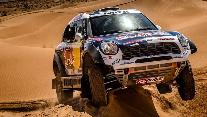 Mini ALL4 Racing, la bestia da 320 cv per la Dakar 2016