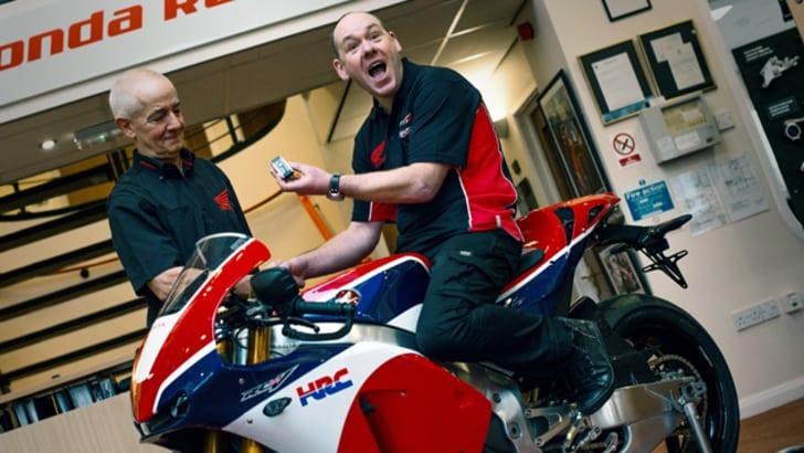 "Honda RC213V-S: consegnata la prima ""gemella"""