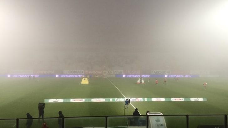 Serie B, Perugia-Vicenza rinviata per nebbia: si recupera il 19 gennaio