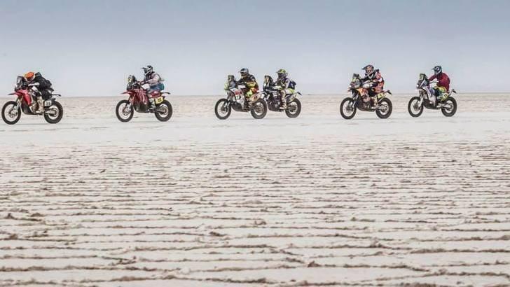 Dakar 2016: moto e sabbia... che fascino!