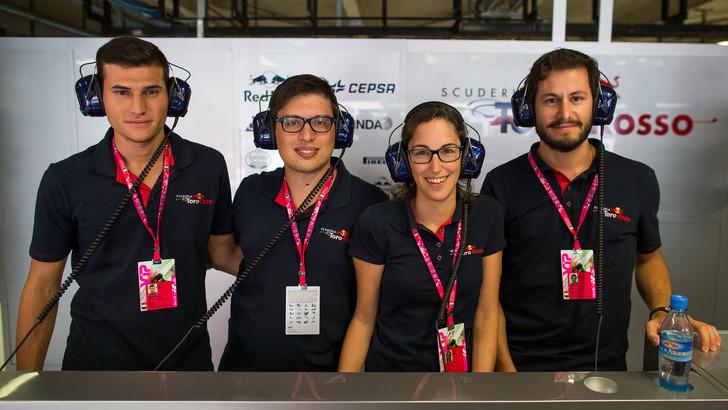 Red Bull On Stage. Quattro giovani    e il sogno della F1