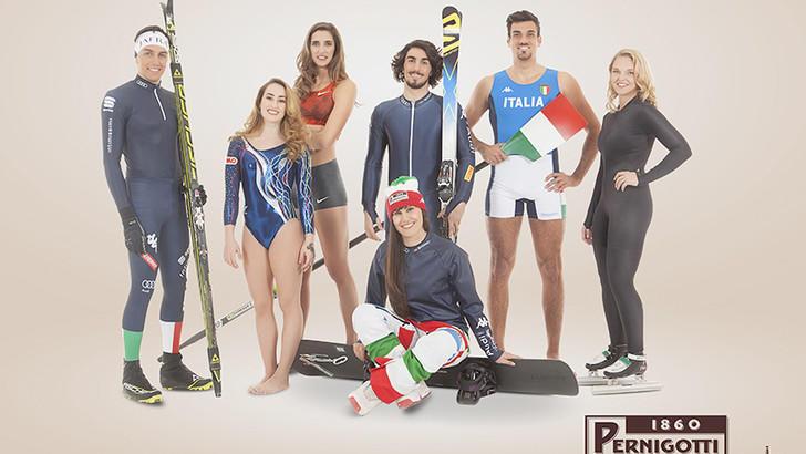 Pernigotti Young Team. Le giovani promesse dello sport italiano