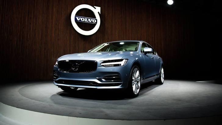 Nuova Volvo S90, l'anteprima a Detroit 2016