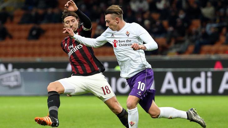 Diretta Serie A, Milan-Fiorentina 2-0