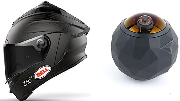 Videocamera nel casco: motociclisti a 360°
