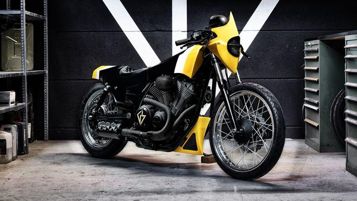 """Yamaha XV950 """"Ultra"""": la svizzera speciale"""