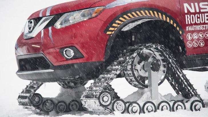 Nissan Rogue Warrior, il SUV delle nevi