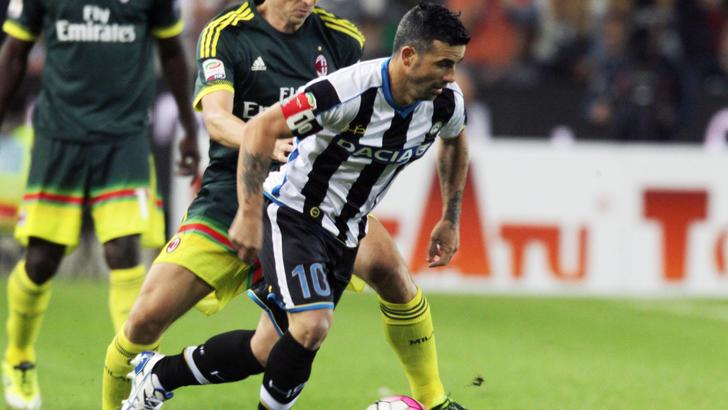 Serie A Udinese, torna Fernandes. Di Natale non convocato