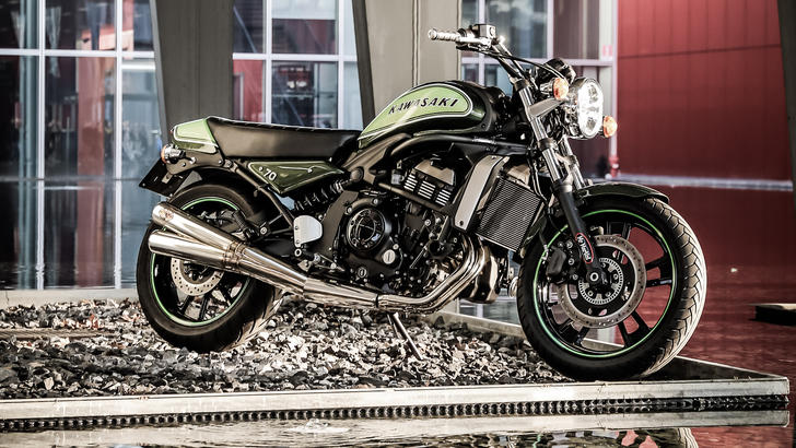 Motor Bike Expo: Kawasaki, custom d'autore