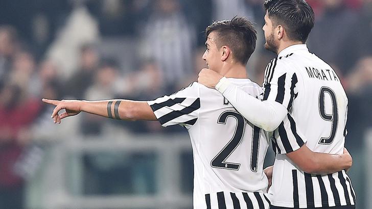 Coppa Italia: Juve, dominio in quota a 1,44