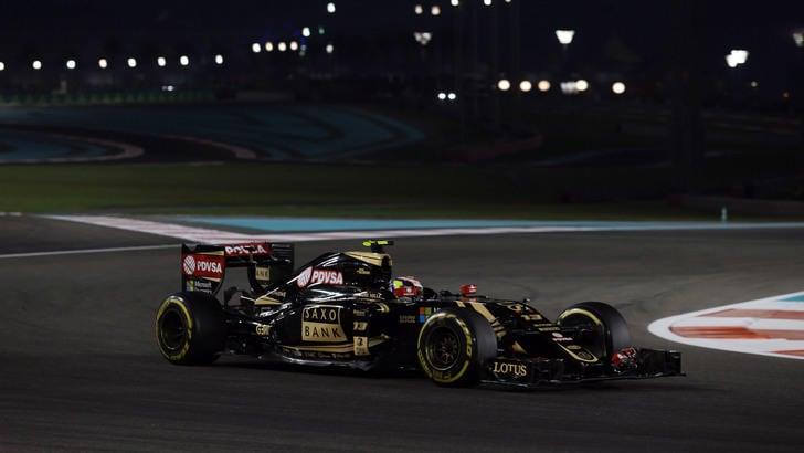 Lotus, Maldonado: «Nel 2016 non sarò in pista»